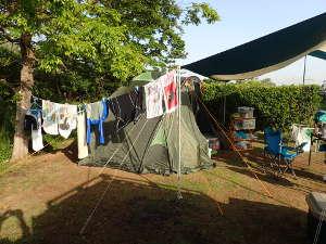 対策 さ キャンプ 暑