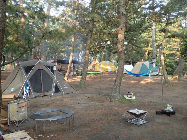 場 大洗 天気 キャンプ